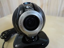 Logitech quickcam communicate delux webcam with microphone in Lockport, Illinois