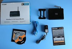 D-link dir-601 150 mbps 4-port 10/100 wireless n router in Plainfield, Illinois