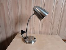 stainless steel table lamp with on/off in Lockport, Illinois