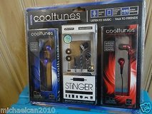 Brand New sentry cooltunes 3-pack stereo earbuds in New Lenox, Illinois