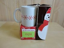 new holiday snow mugs with cocoa in Lockport, Illinois