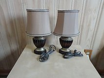 2pcs royal style table lamp with on/off in Lockport, Illinois