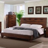 *** BRAND NEW *** SOLID WOOD QU. MODERN CONTEMPORARY PLATFORM BED *** in Fort Campbell, Kentucky