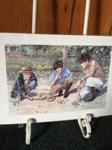Sterling Everett picture -Boys playing Marbles in Macon, Georgia