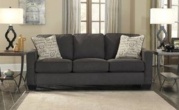 *** BRAND NEW *** ASHLEY CHARCOAL GREY GRAY QUEEN SLEEPER SOFA *** in Fort Campbell, Kentucky