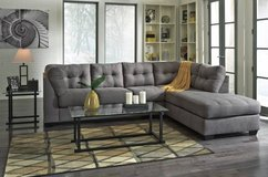 *** BRAND NEW *** ASHLEY GREY GRAY 2PC SECTIONAL *** in Fort Campbell, Kentucky