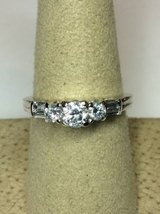 14kt White Gold Past Present Future Diamond Engagement Ring in Camp Pendleton, California