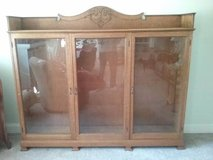 Antique Bookcase/Display cabinet in Beaufort, South Carolina
