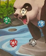 Magic the Gathering Oath of Gatewatch 5 Color 20 Sided Dice Set! in Camp Lejeune, North Carolina