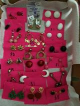 Costume Jewelry Clip on earings in Tinley Park, Illinois