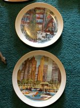 Chicago City Collection Plates Franklin McMahon Vintage Limited Editio in Tinley Park, Illinois