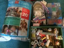 Crafters Supplies Sequins, beads, thread, Fiberfill in Tinley Park, Illinois