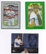 CHICAGO CUBS HALL OF FAMER BILLIE WILLIAMS LOT in Batavia, Illinois