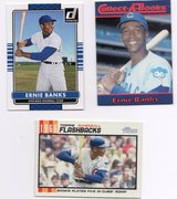 CHICAGO CUBS HALL OF FAMER ERNIE BANKS lot in Chicago, Illinois