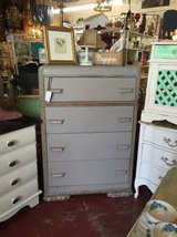 Vintage Gray 4 Drawer Dresser-REDUCED in Temecula, California