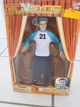 NEW 'N Sync Collectible Justin Timberlake Marionette Doll New in Box Original 2000 Vintage in Morris, Illinois