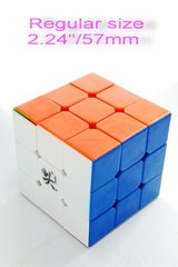 Brand New 57mm 3x3 speed cube magic puzzle stickerless fashion brain toys(Wholesale 100+Availables) in Chicago, Illinois