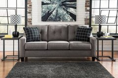 *** BRAND NEW *** ASHLEY LIGHT GREY GRAY CONTEMPORARY MODERN SOFA *** in Fort Campbell, Kentucky