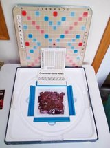 Deluxe Scrabble Game-Has  Revolving Turntable Board in Brookfield, Wisconsin