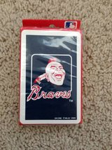 Braves 1989 playing cards new in Wilmington, North Carolina