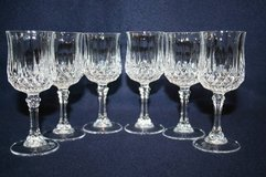 6 Crystal D' Arques Longchamp Crystal Glasses in Brookfield, Wisconsin