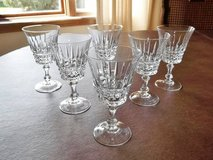 Cristal D' Arques Wine Glasses (12) in Brookfield, Wisconsin
