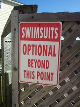 Swimsuits Optional Sign in Wilmington, North Carolina