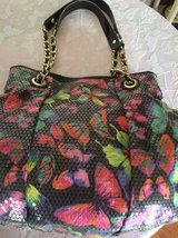 Betsey Johnson Beautiful Butterfly Handbag with sequins in Philadelphia, Pennsylvania