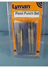 lyman pistol punch set new in pkg. nice set for gunsmithing in Clarksville, Tennessee