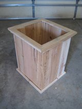 TALL CEDAR PLANTER Deck Box Patio Pot in Shorewood, Illinois