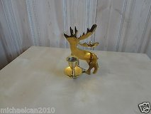 100% copper deer candle holder 6.75'' high in Lockport, Illinois