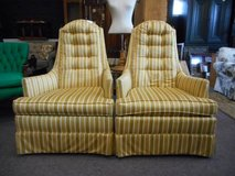 Sublime Armchair in stripes! in Naperville, Illinois