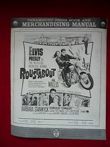 elvis presley roustabout paramount pressbook & merchandising manual-1964 in Yucca Valley, California