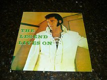 elvis presley original boot-legged album from 1970s-elvis the legend lives on in Yucca Valley, California
