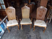 Chairs*Antique*Claw Legs*Solid Wood*All Three in Rolla, Missouri