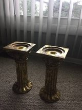 candle stands, planter, MANY misc decor in Schaumburg, Illinois