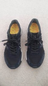 Size 10.5 Black Addidas boost running shoes in Watertown, New York