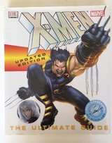 X-Men The Ultimate Guide Updated Edition Marvel DK Hardcover in Morris, Illinois