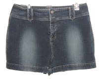 Sonoma Denim Jean Shorts Womens sz 12 with Flapped Snap Pockets in Morris, Illinois