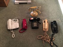 Vintage Phones, Bell, Comdial, GE, All Colors in St. Charles, Illinois