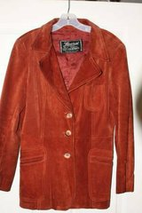 Make Offer Vintage Ladys Learsi Export Suede Leather Coat in Kingwood, Texas