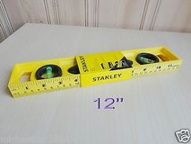 """Brand New Stanley nonmagnetic top read window 12"""" level in Lockport, Illinois"""
