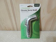 New Plumbcraft chrome spray head with thumb lever control in Plainfield, Illinois