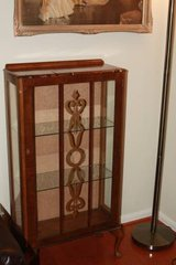 Antique Display case / Cabinet Queen Anne Style in Kingwood, Texas