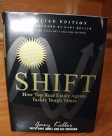 Shift: How Top Real Estate Agents Tackle Tough Times by Gary Keller - NEW, Limited Edition in Wheaton, Illinois
