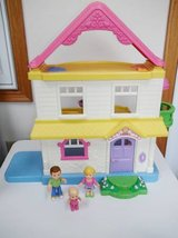 Fisher Price My First Dollhouse W/Family in Brookfield, Wisconsin