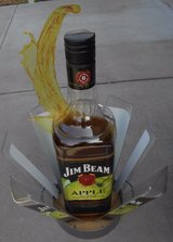 LARGE PLASTIC JIM BEAM APPLE ADVERTISING DISPLAY BOTTLE IN EXCELLENT CONDITION in Beaufort, South Carolina