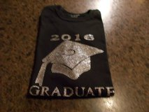 Class of 2016 GRADUATE bling tshirt in Baytown, Texas