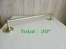 New Total 20'' towel bar color :gold in Plainfield, Illinois