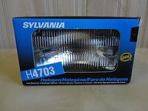 Brand New sylvania h4703 12 volts 55 watt halogen headlight low beam 4 headlite in Joliet, Illinois